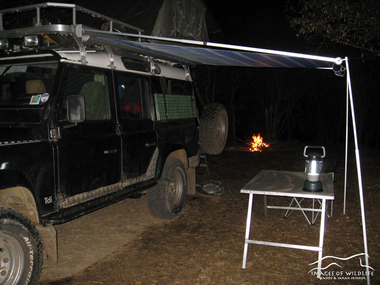 Bush camping adventures