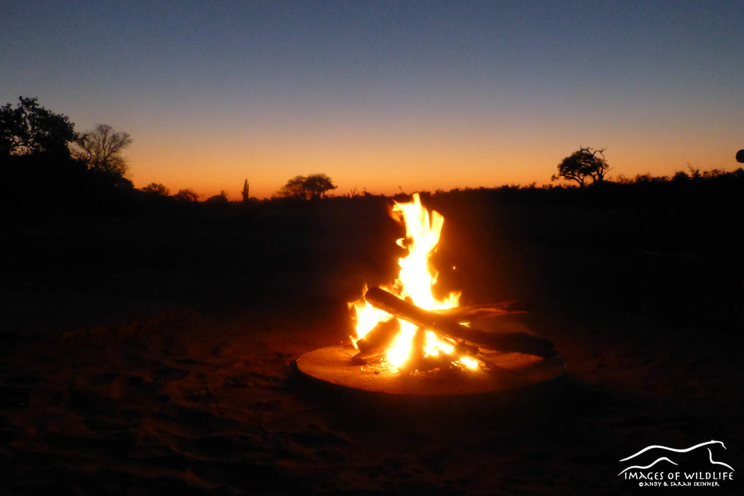Campsite fire, what campings all about