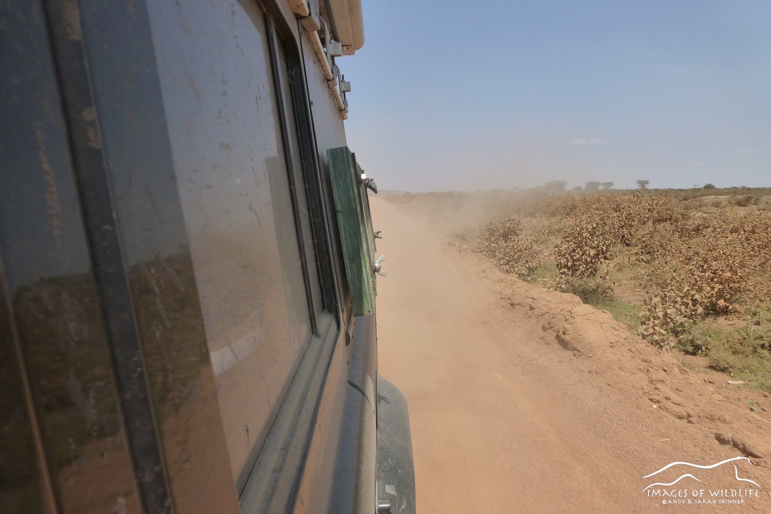 The long and dusty road to the Maasai Mara