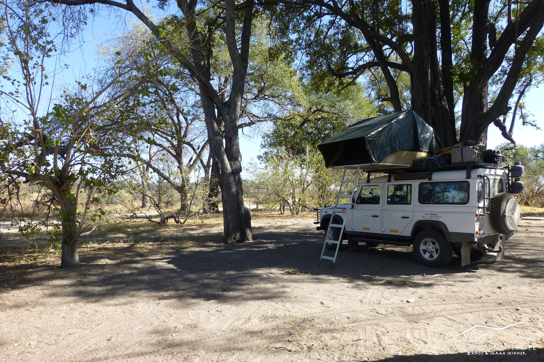 Xakanaxa Campsite, Botswana